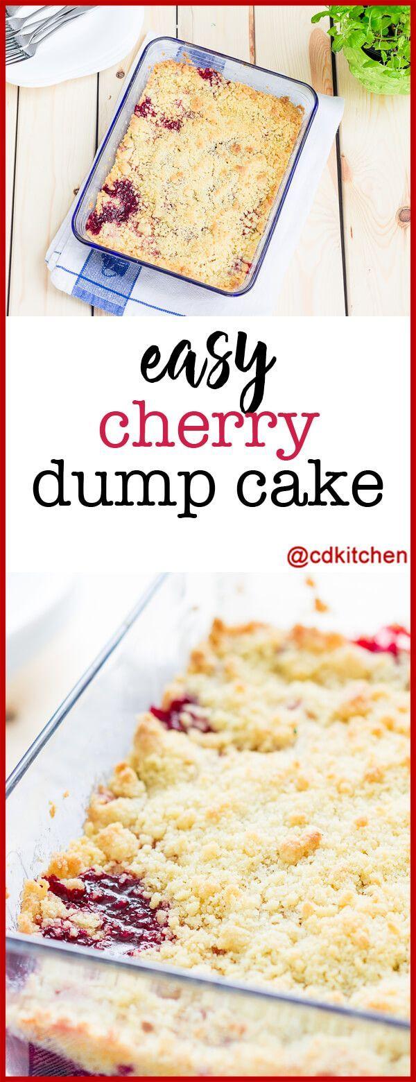 Easy Cherry Dump Cake – Dump Cakes sind nicht nur einfach zuzubereiten, sondern jeder liebt …