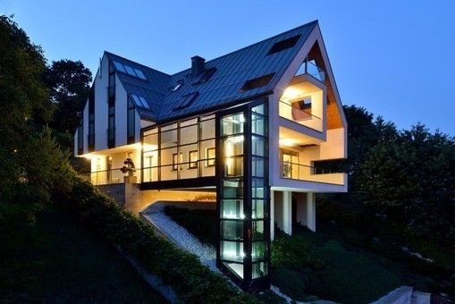 32 best maison terrain pentu images on Pinterest Architecture
