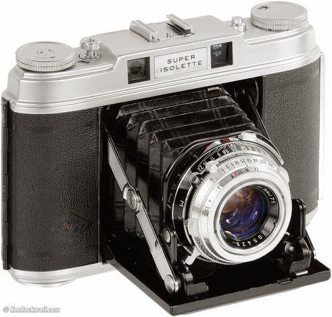 Agfa Super Isolette; best folding camera? #vintagecameras