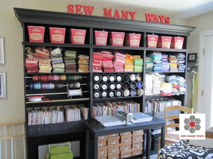 une super id e de rangement pour atelier couture atelier couture bricolages pinterest. Black Bedroom Furniture Sets. Home Design Ideas
