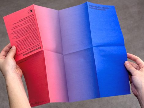 gradient pamphlet
