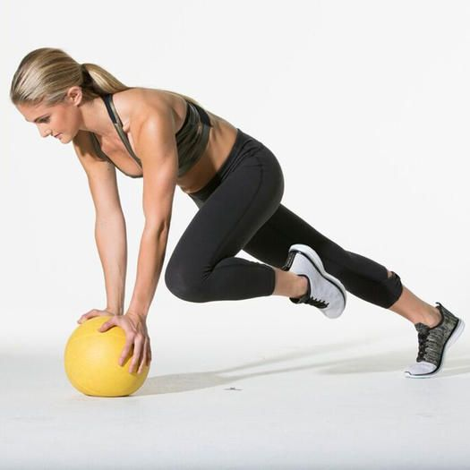 20-Minute HIIT Workout: How to Use Medicine Ball   Shape Magazine