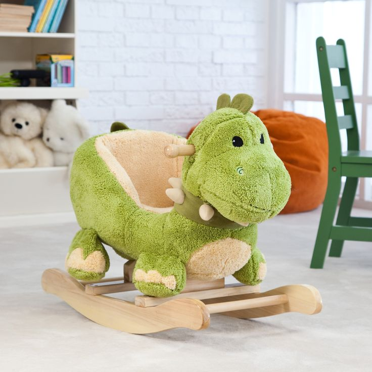 Have to have it. Dinosaur Rocking Animal $119.99//Fabian's Christmas gift!!