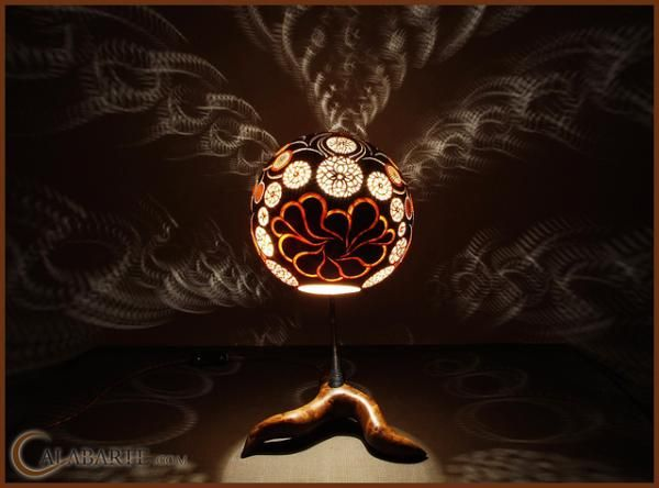 Amazing Exotic Gourd Lamps From Calabarte Gallery