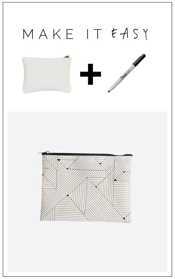 DIY Geometric Design Purse Tutorial