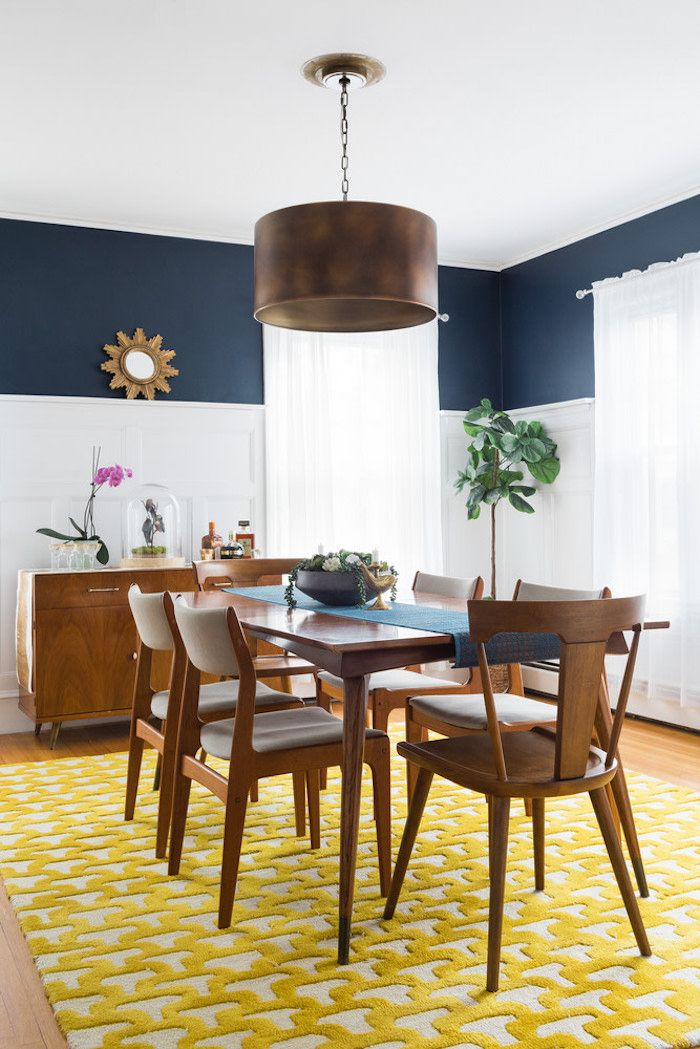 Mid Century Modern Wood Dining Chairs