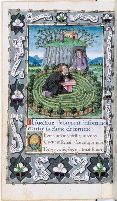Titre : L'Amant infortuné de François Habert   (Source : RNM - Musée Condé de Chantilly)