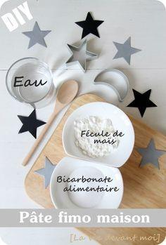 """* DIY: Pâte """"fimo"""" maison pour décos de NOEL! - La vie devant moi                                                                                                                                                                                 Plus"""