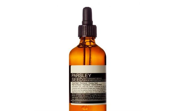 Experts tell: This is when to start using anti wrinkle products. If organic is your thing, look for moisturisers and serums with antioxidants such Vitamin A, C, E and Green Tea. We recommend Aesop Parsley Seed Anti-Oxidant Serum, $69