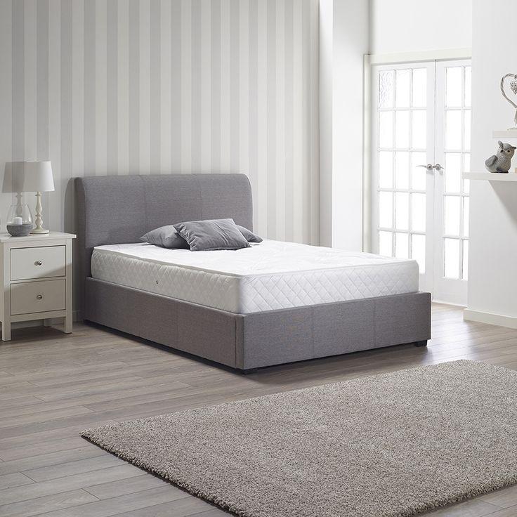 Rimini Fabric Ottoman Bed