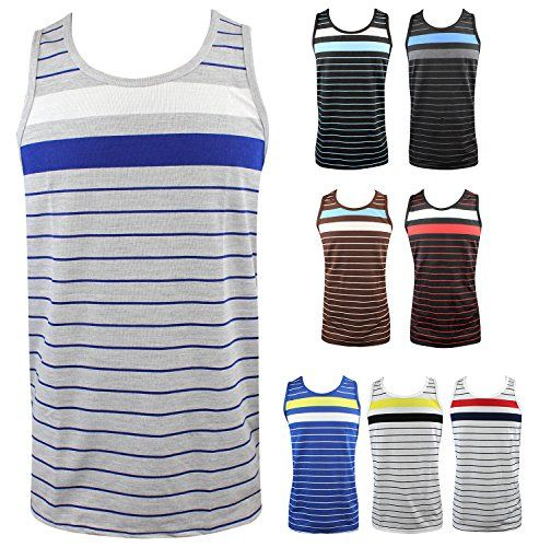 Enimay Men's Summer Hulk Stripe Beach Tank Slim Fit Muscle Shirt (Many Colors)  http://www.yearofstyle.com/enimay-mens-summer-hulk-stripe-beach-tank-slim-fit-muscle-shirt-many-colors-2/