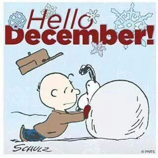 Hello December Snoopy Style