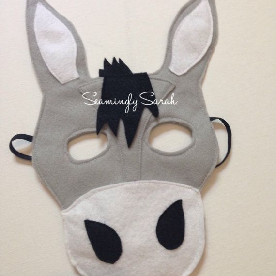 1000 ideas about donkey costume on pinterest nativity for Donkey face mask template