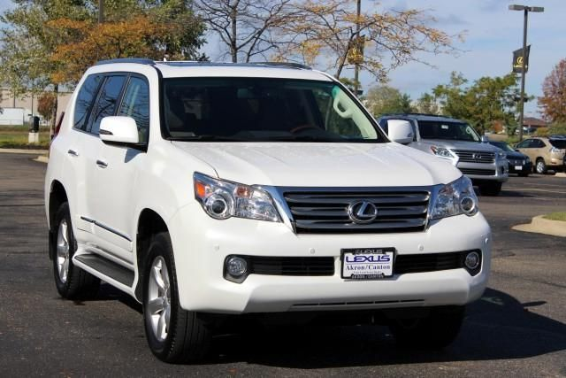 2013 Lexus GX460 Base 4x4 4dr SUV SUV 4 Doors White for sale in Akron, OH Source: http://www.usedcarsgroup.com/used-lexus-for-sale-in-akron-oh