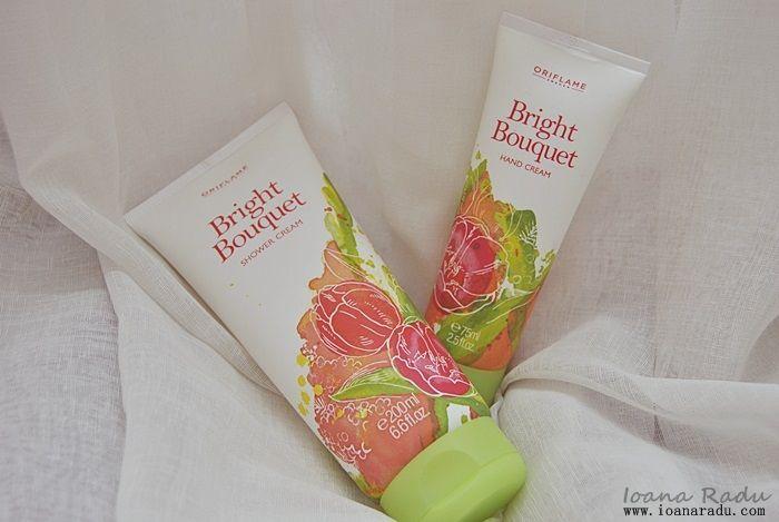 crema de maini si crema de dus Birght Bouquet Oriflame 1