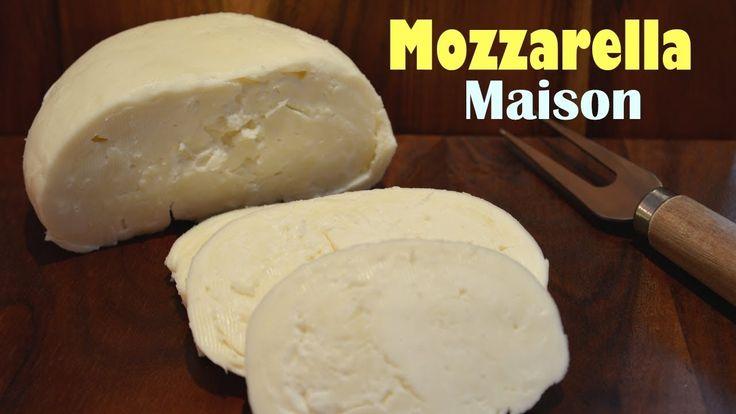 Recette Fromage Mozzarella Maison - Méthode Traditionnelle. Facebook: https://www.facebook.com/KateHacks Ma chaîne Youtube:  https://www.youtube.com/katehacks