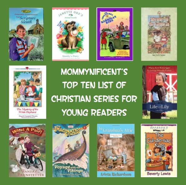 Our Top Ten List of Christian Book Series for Young Kids - Mommynificent