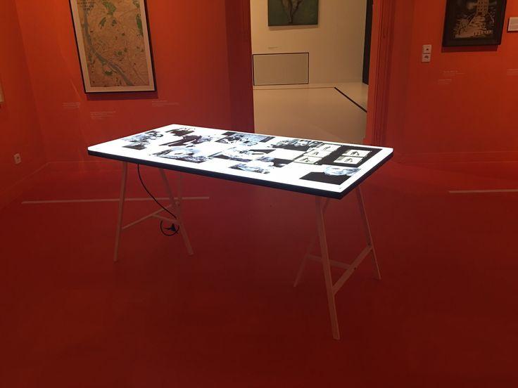 Table light box