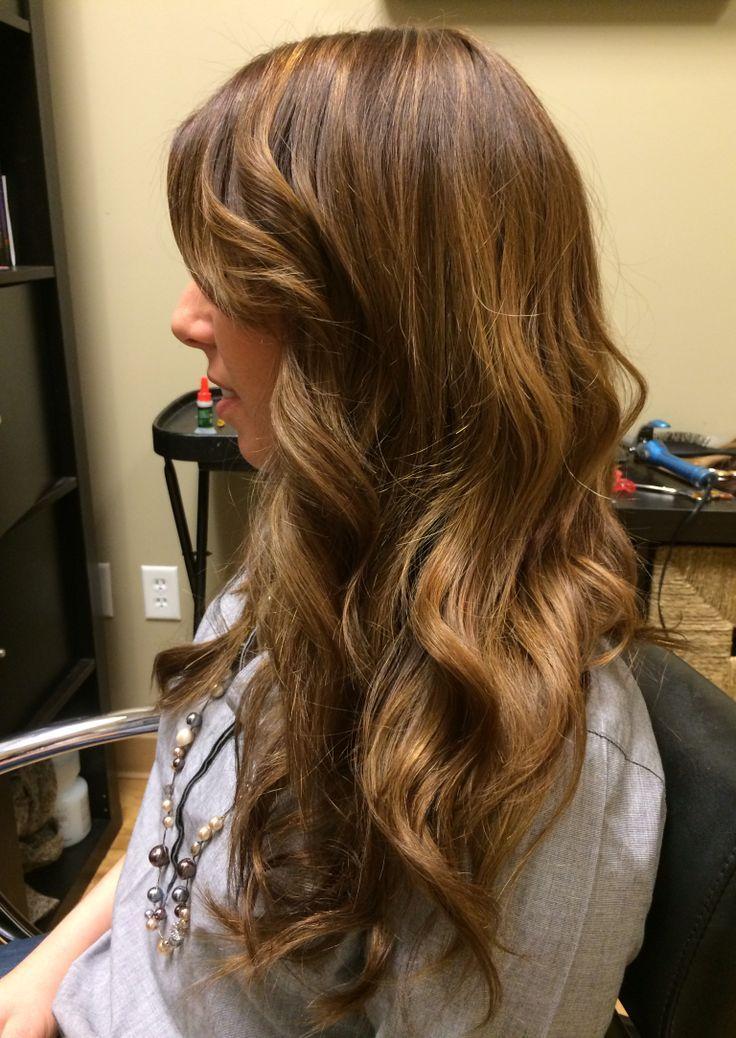 color Chestnut brown hair