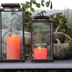 Autumn Lanterns & Pumpkins