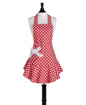 White polka dots - Don't forget the bow ;)