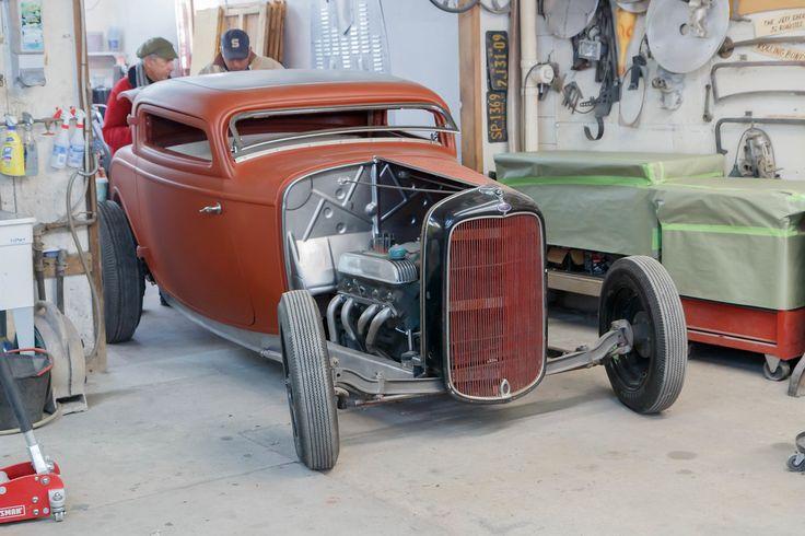 Rolling Bones Hot Rod Shop 1932 Ford Pinterest Shops
