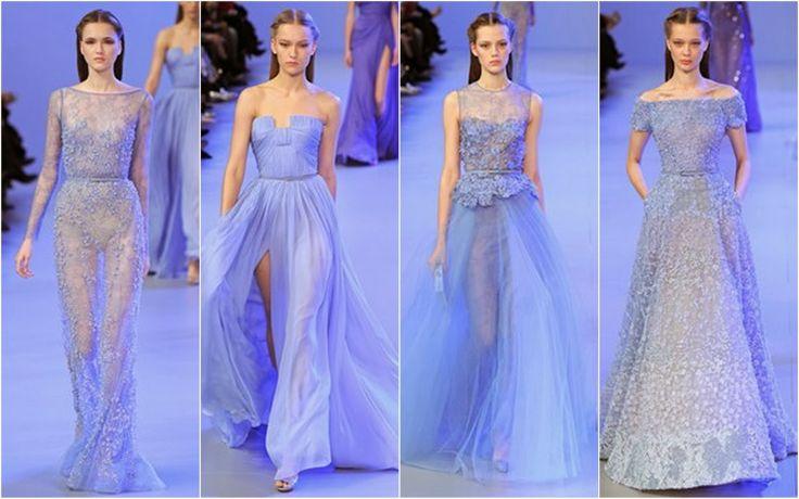 Powder Blue - Beautifully Fierce!: Paris Haute Couture: Spring 2014 Color Trends.
