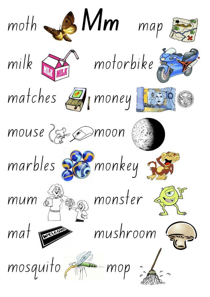 m words for kids Tracing worksheets, Lettering, Free blog