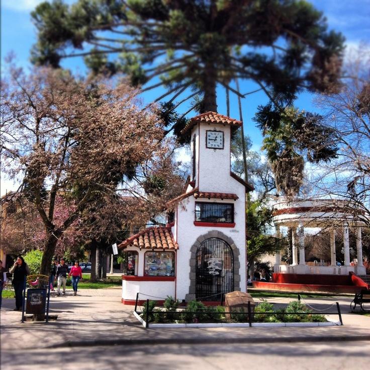 Plaza de Armas - #Santa Cruz, #Colchagua, Chile