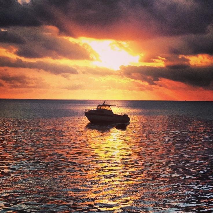 Sunset in Port Vila, Vanuatu