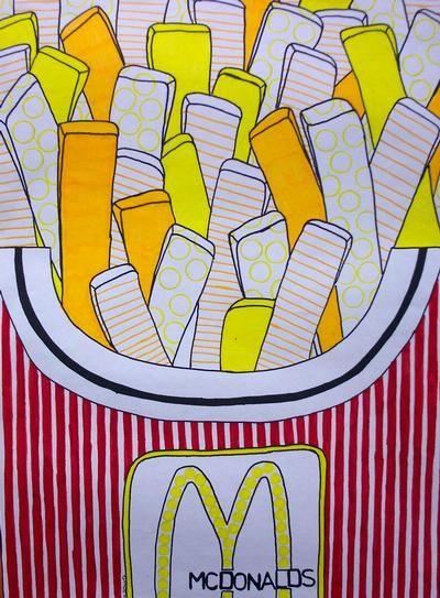 Pop Art inspired by Roy Lichtenstein - Waunakee Community School ...