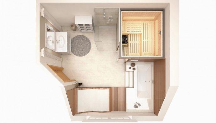 KLAFS Gestaltungsideen Sauna im Bad