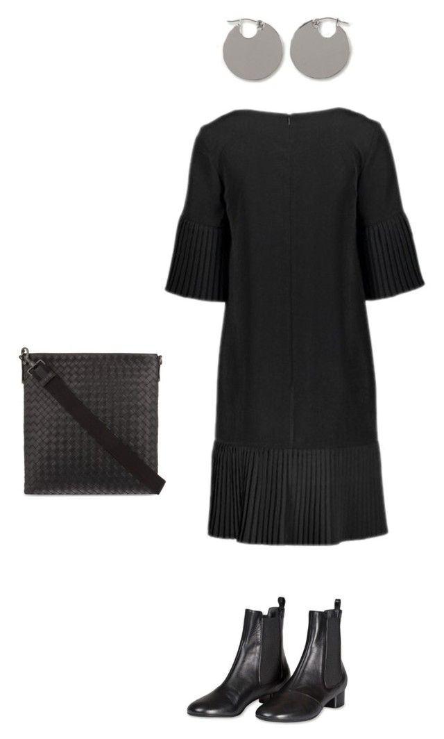 """Black"" by kirsti-salonen on Polyvore featuring Marimekko and Bottega Veneta"