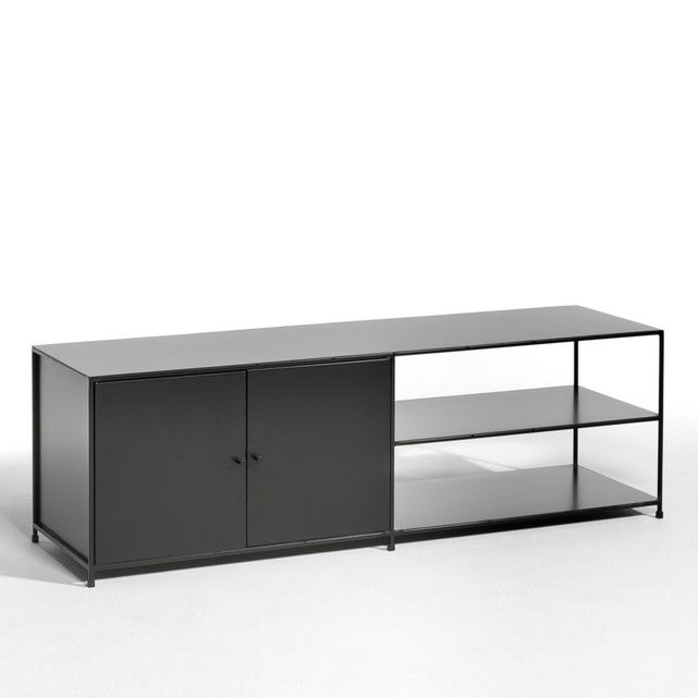 Romy Metallic Tv Cabinet With 2 Doors Affordable Living Rooms Furniture Perfect Living Room