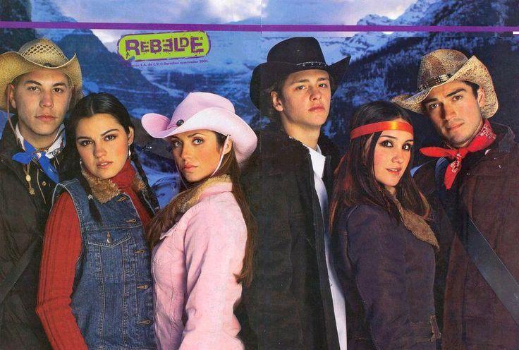 Canadá - 012 - RBD Fotos Rebelde | Maite Perroni, Alfonso Herrera, Christian Chávez, Anahí, Christopher Uckermann e Dulce Maria