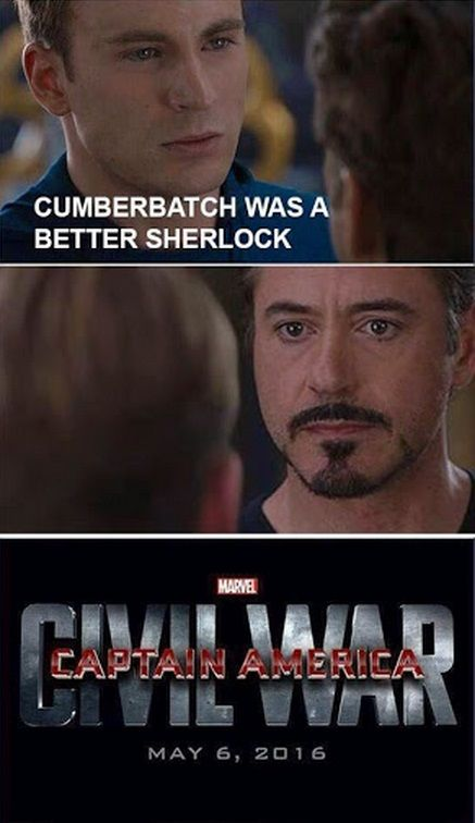 'Captain America: Civil War' has already spawned a meme starring Iron Man being wrong and Captain America ready to flip tables.