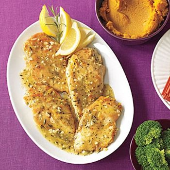 Garlic Chicken with Rosemary - delicious. I used filleted chicken ...