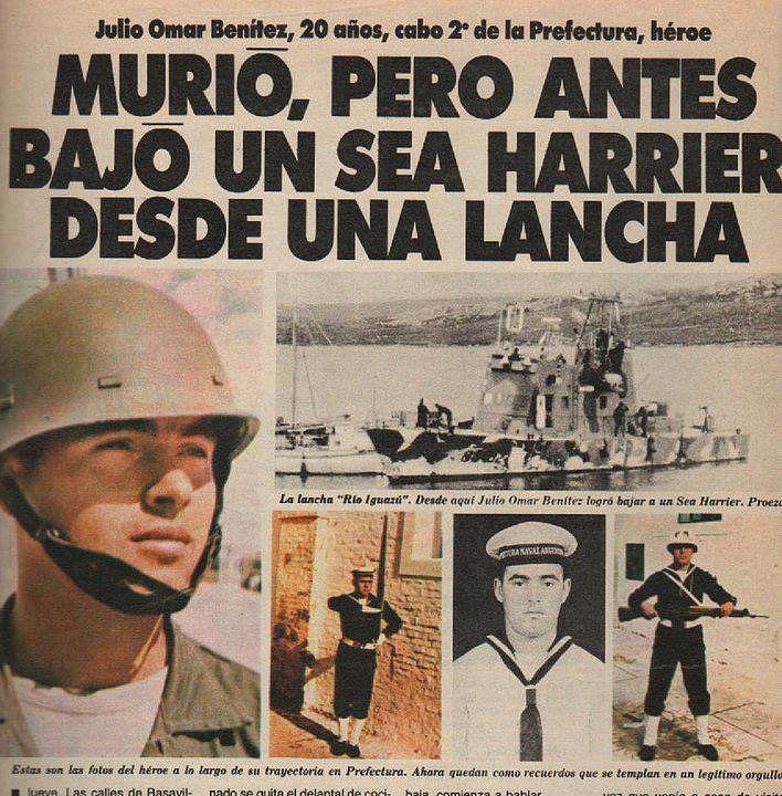 "Cabo 2do Julio Omar Benítez - Prefectura Naval Argentina, Guardacostas GC-83 ""Río Iguazú""."