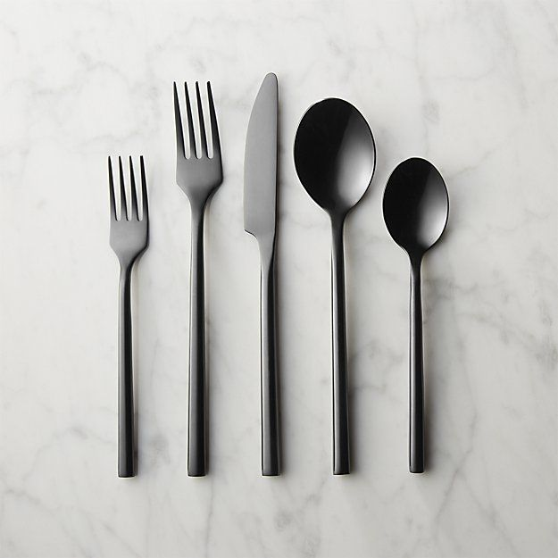 20-piece knight flatware set |cb2 $89.95