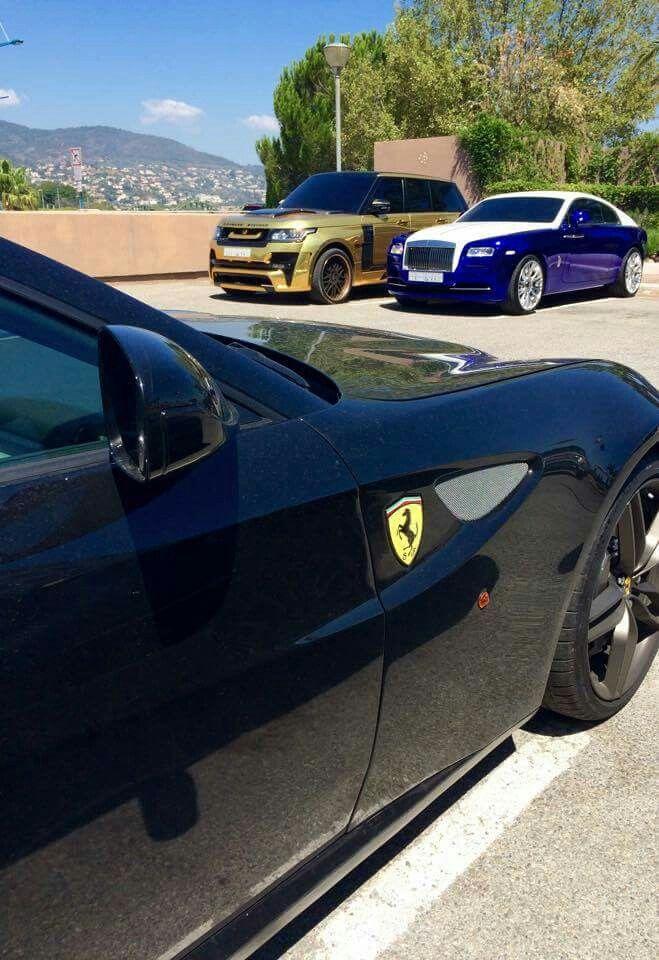 Ferarri,Land Rover and Bentley