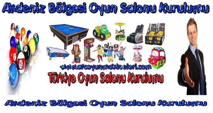 Doğu Anadolu Bölgesi Oyun Salonu Kurulumu www.atcoyunmakineleri.com