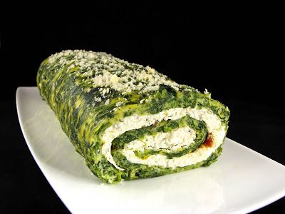 Cook book of trial and error: Spinach Ricotta Roll
