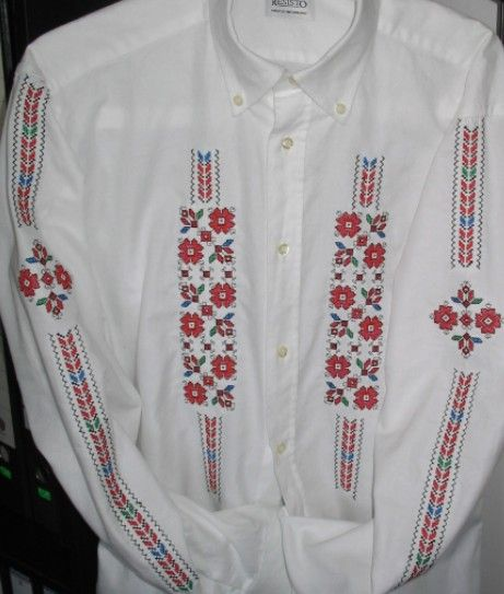 traditional Bulgarian embroidery pattern