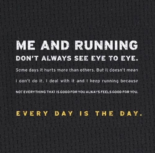Every day is the day.