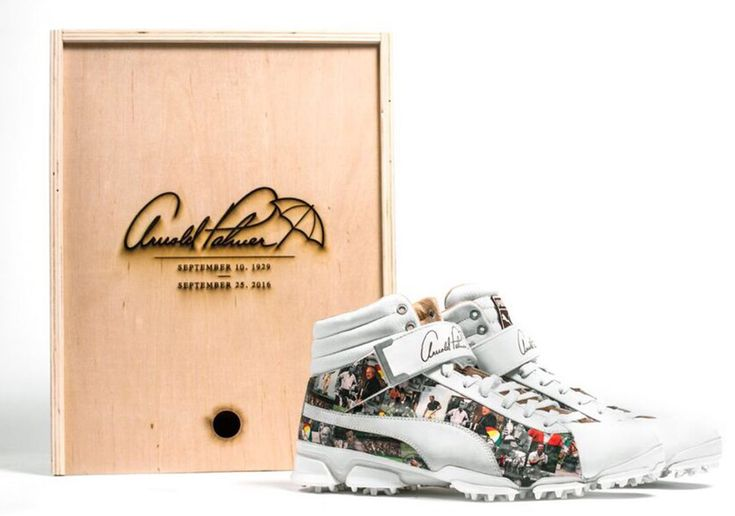 #sneakers #news  Rickie Fowler's Arnold Palmer Golf Shoes To Be Auctioned Off For Charity