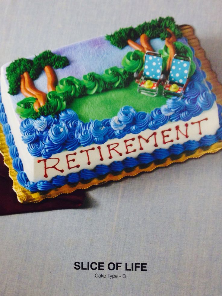 Birthday Or Retirement Sheet Cake Retirement Party Ideas