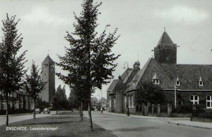 Lasondersingel Enschede (jaartal: 1950 tot 1960) - Foto's SERC