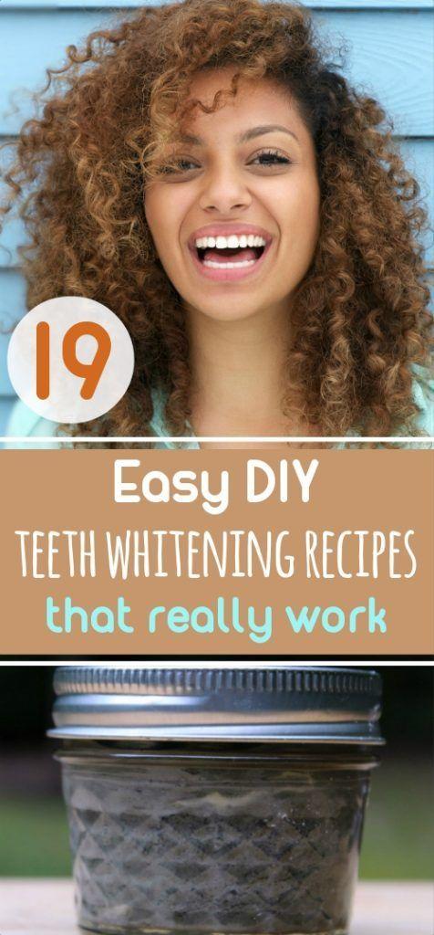 19 Easy DIY Teeth Whitening Recipes