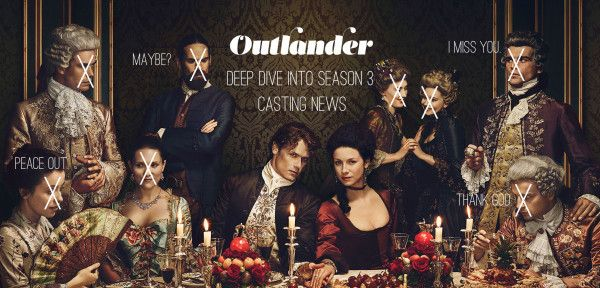 The Outlander cast is expanding and we're breaking it down for you!