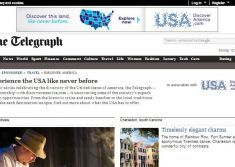 The Telegraph partners with Brand USA for multiplatform campaign